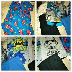 Lot if 4 pairs pajamas